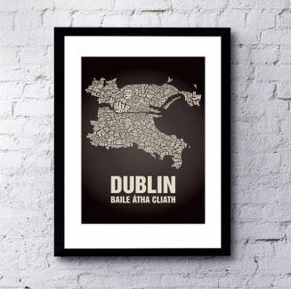 Buchstabenorte Dublin