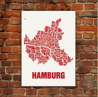 Buchstabenorte Hamburg