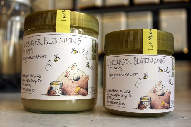 Samowar-Honig in der Samowar Edition