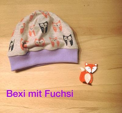 Bexi mit Fuchsi 1
