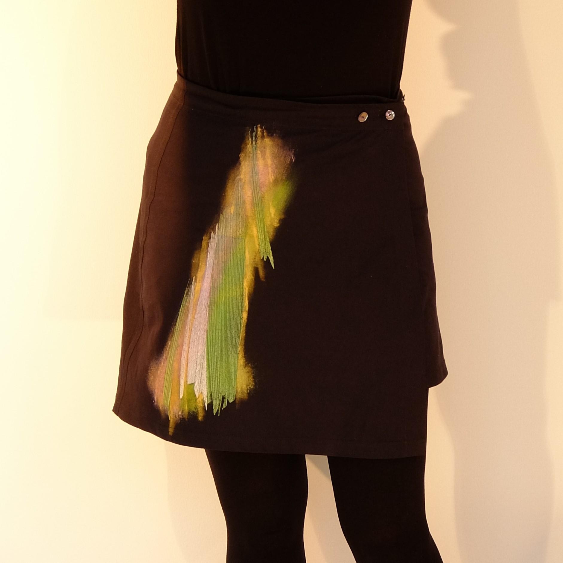 KleiderKunst-Wickelrock